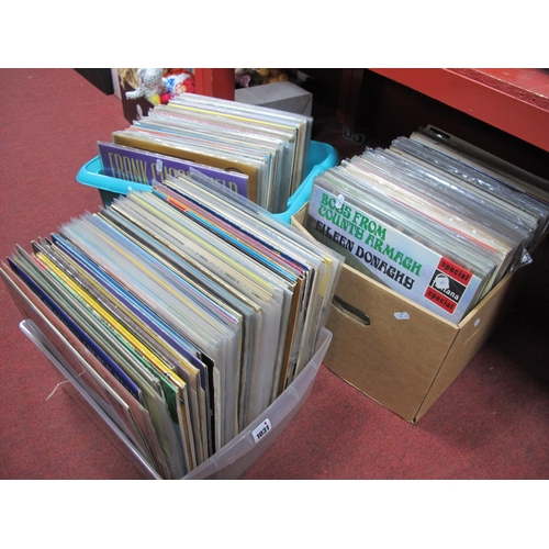1031 - Approximately 250 LP's, with titles and artists spanning the decades:- Three Boxes...