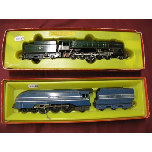 325 - Two Tri-ang/Hornby 'OO' Scale Locomotives, a 2-10-0 'Evening' Star, tender drive, in original box, b...