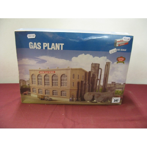 347 - An 'HO' Scale Empire Gas Works Kit By Walthers Cornerstone, unopened....