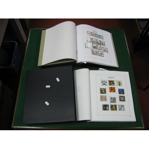 122 - Two Albums of G.B Stamps Mint and Fine Used from 2000's, decimal face value of mint stamps over £110...