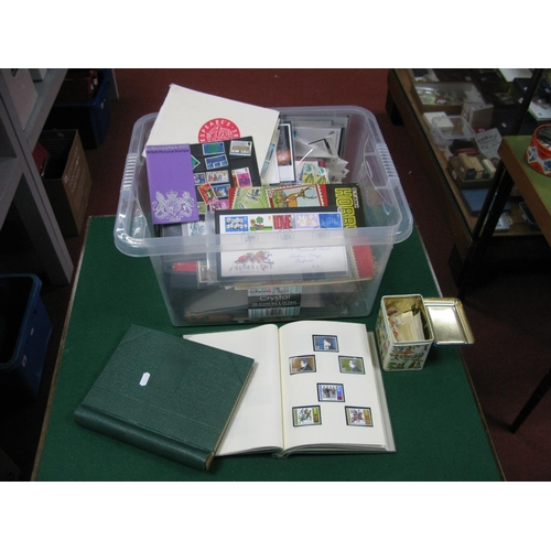 125 - A Carton Containing a Collection of G.B First Day Covers and Presentation Packs, from 1970's to earl...