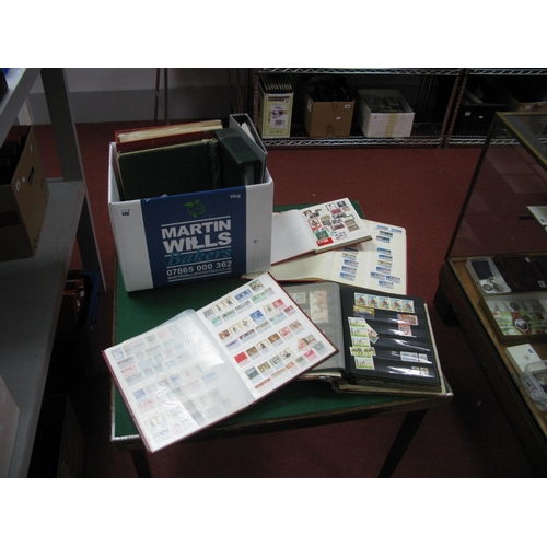 140 - A Box of World and Commonwealth Mint and Used Stamps, in eight stockbooks, noted Greece, Monaco, Ire...