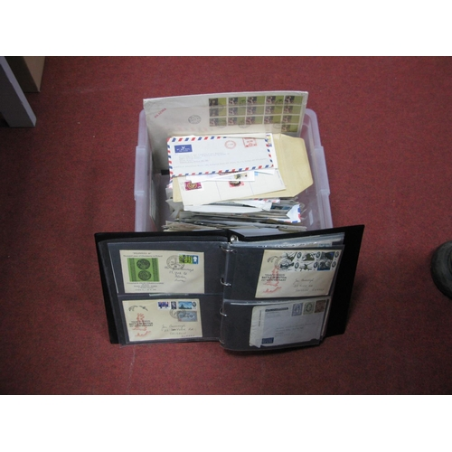 162 - A Carton Containing a Large Selection of G.B and World Postal History and First Day Covers, in two a...
