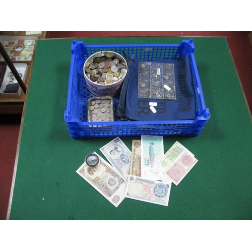 170 - A Quantity of Overseas Base Metal Coinage, many Countries represented including New Zealand George V...