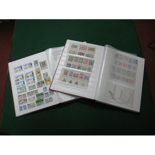171 - Two Stockbooks Containing a Mainly Used Collection of French and Colonies Stamps and Post Cards, plu...