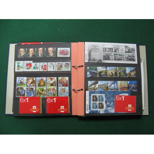176 - A G.B Album of Mint Decimal Stamps and Booklets, value of decimal stamps over £220....