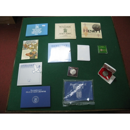 192 - A Collection of Mainly Jersey, Isle of Man, Guernsey, Falkland Islands Coin Presentation Packs, to i...
