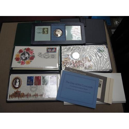 201 - Four Commemorative Coins, Medallion, to include John Pinches Ltd The Day of The Concorde Commemorati...