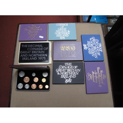 203 - Great Britain and Northern Island Coin Interest, to include the 1968 specimen set first and second i...