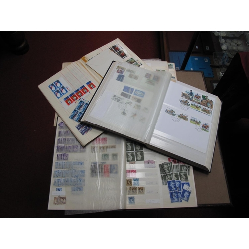 205 - A Mainly G.B Collection of Used Queen Elizabeth Stamps, including pre decimal to 10/- heavily duplic...