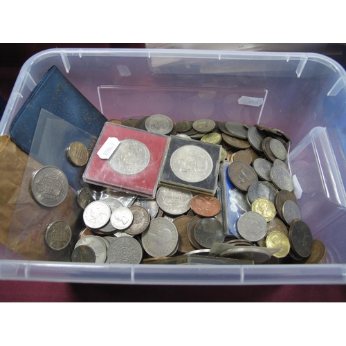 261 - A Collection of G.B Pre-Decimal and Decimal Base Metal Coins, assorted denominations, including comm...