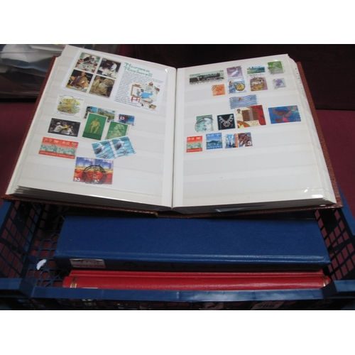 266 - Three Binders of Commonwealth Stamps, mint and used with good selection, includes New Zealand, Austr...