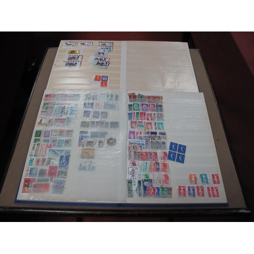 276 - Two Stockbooks of G.B and Used Stamps from Queen Victoria to Queen Elizabeth II, with a good selecti...