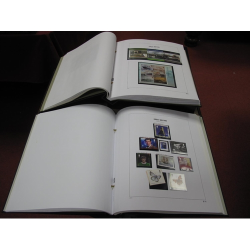 291 - Two Albums of Mint G.B Stamps in a Stanley Gibbons Hingeless Albums, face value of decimal stamps, o...