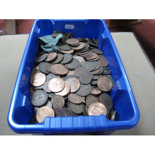 295 - A Collection of G.B Pre-Decimal and Decimal Base Metal Coins, assorted denominations, all from circu...
