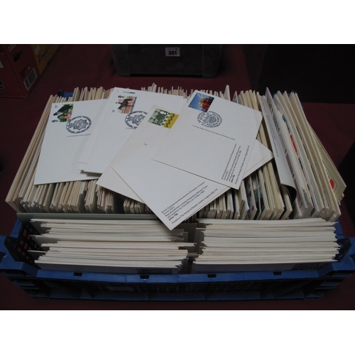 300 - A Collection of 200 G.B First Day Covers, from 1970's and 80's plus PHQ cards used form same period,...
