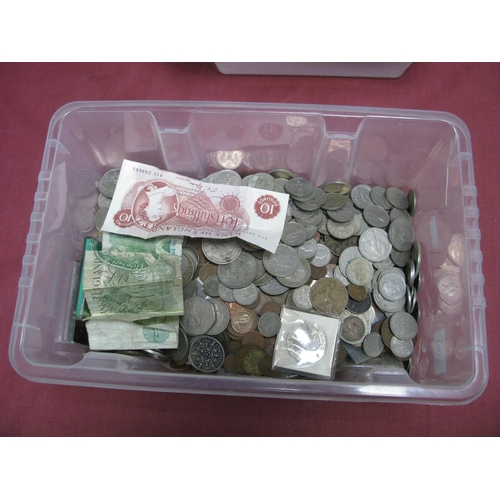 309 - A Collection of G.B Pre Decimal and Decimal Base Metal Coins, assorted denominations together with t...