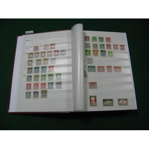 322 - A Collection of German States and Germany Mint and Used Stamps, from 1866 to 1948 in a large stockbo...