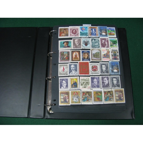 326 - World Stamps on Hagner Pages, mainly used includes Austria, Egypt, Spanish Colony, Netherlands, etc;...