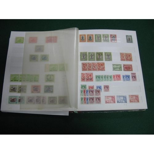 327 - A Mint and Used Stamp Collection of Papua New Guinea, in a large stockbook, includes valuable early ...