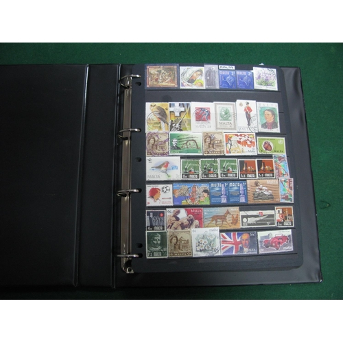 328 - A World Collection of Mint and Used Stamps, mostly modern from Malta, Mongolia, Maldives, Czechoslov...