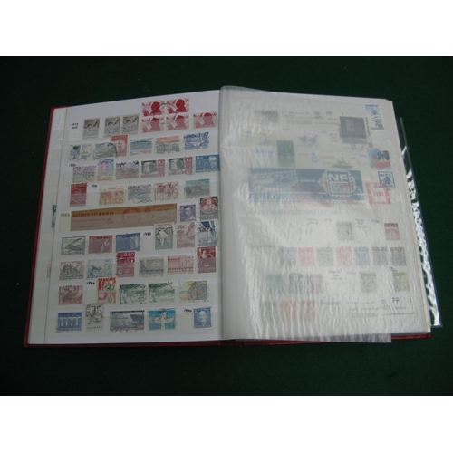 331 - A Sixty four Page Stockbook of Mainly Used Stamps from Countries D - H, includes Denmark from 1875 -...