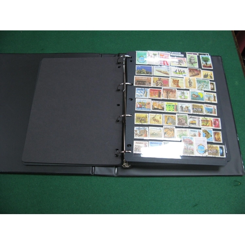 346 - A Collection of Mixed Mint and Used Mainly African Stamps, in a good quality four ring binder, good ...