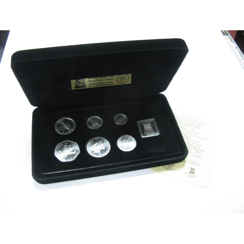 474 - Pobjoy Mint Isle of Man Silver Proof Coin set 1978, (7 coins), accompanied by literature, cased....