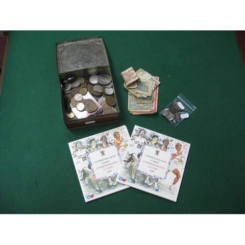 490 - A Collection of Mainly Great Britain Pre-Decimal Silver Coins including Queen Victoria sixpence 1880...