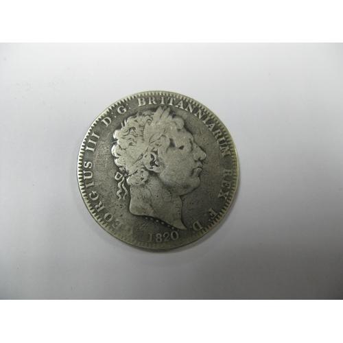 496 - George III Crown 1820, (27.8g)....