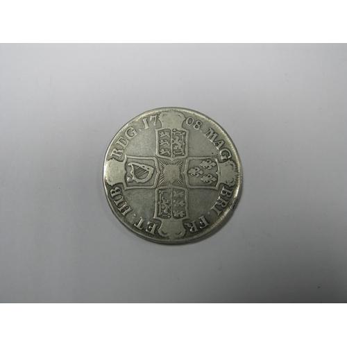 499 - A Queen Anne Crown, 1708, (29.3g)....