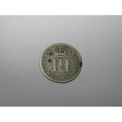 514 - James II Threepence 1686, (1.4g)...