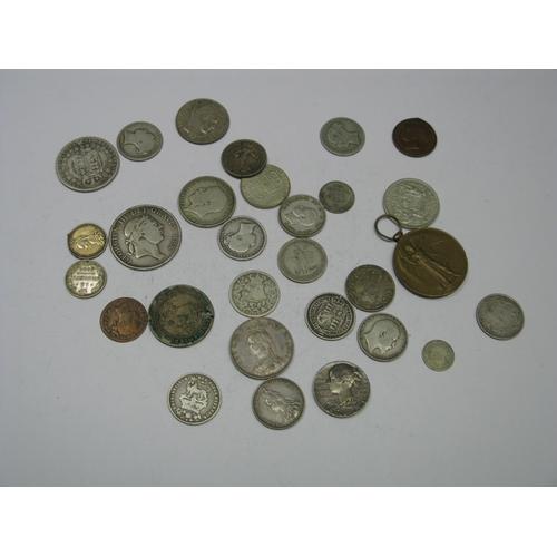 538 - A Collection of Predominantly G.B Silver Coins, to include Queen Victoria halfcrown 1888, florin 188...