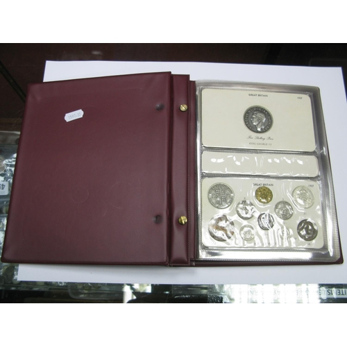 552 - A Collection of King George VI Coins Sets, to include 1937 crown, 1937, 1938, 1939, 1940, 1941, 1942...
