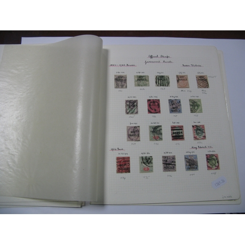 362 - GB Officials: A Fine Collection of Queen Victoria and King Edward VI, including Inland Revenue, Offi...