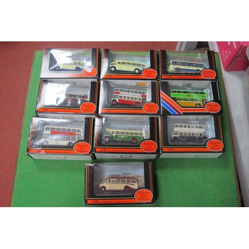 57 - Ten EFE 'OO' Buses, all Yorkshire related, all boxed.