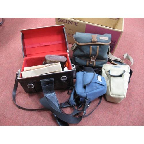 747 - Camera, Spares, Parts, Accessories, Filters, Camera Bags, Minolta X-300 camera with Minolta MD zoom ...