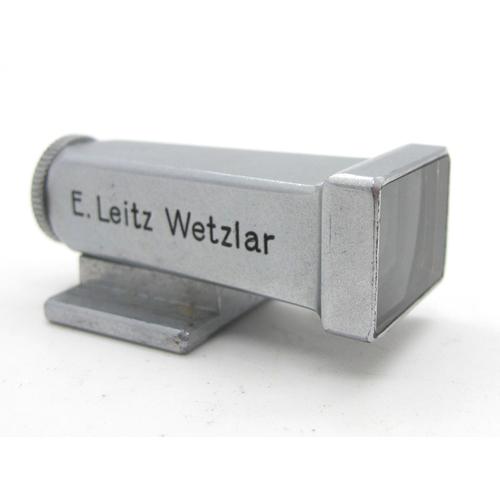 862 - Leica Leitz Wetzler 16493 Release Connection, from Leica to Flex, boxed, Leica Rear Lens Cap, Leitz ...