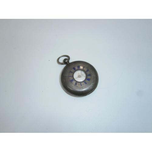 Silver Half Hunter Fusee Pocket Watch