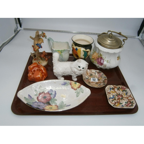 Victorian Biscuit Box, Hummel, Maling and Other Ceramics