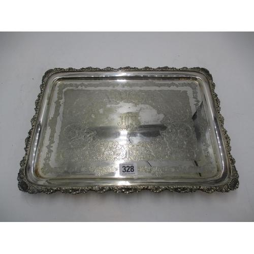 Cameron Kilmarnock Silver Plated Tray