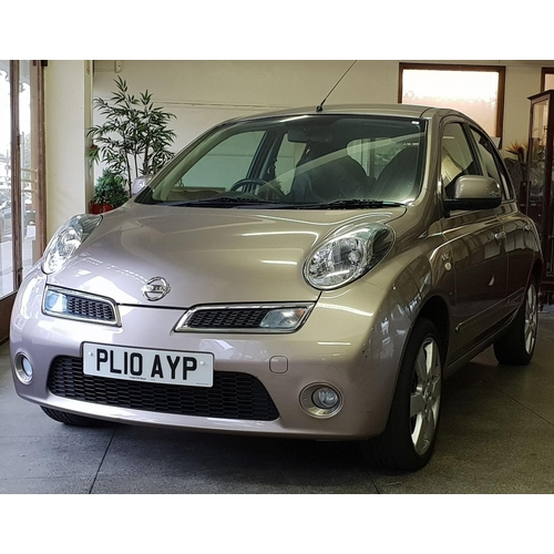 1 - A Nissan Micra 1.2 N-Tec motor car, automatic, 10 registration, two owners from new, 17000 miles app...