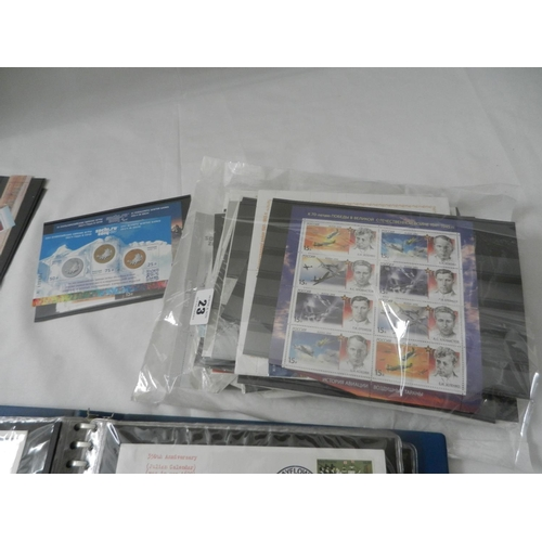 23 - A selection of modern Russian stamps, an album of First Day covers etc.....