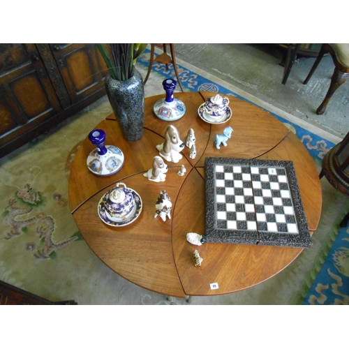 49 - A set of six Peter Hvidt for France and Son of Denmark model 523 teak tables, each table is signed w...
