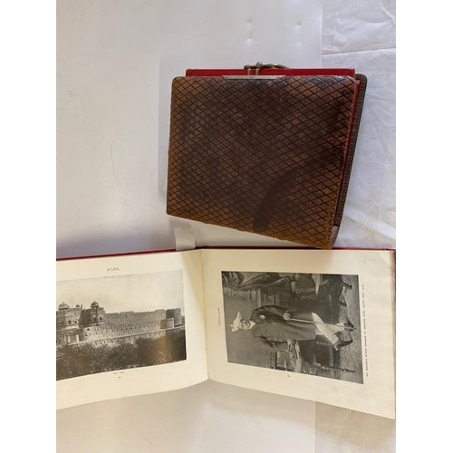 29 - A leather photograph album and a Royal Tour Souvenir Album...
