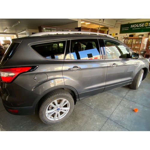 1 - A 19 registration Ford Kuga 2.0TDCI Ecoblue Zetec Powershift motor car, diesel, one owner from new, ...