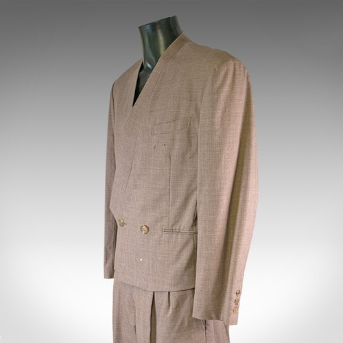 365 - David Bowie interest. An Issey Miyake two piece suit from the deceased estate of one Steve Strange o...