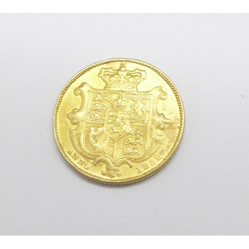 1088 - A William IV sovereign, 1832...