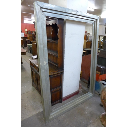 343 - A large brass picture frame...