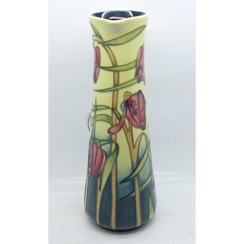 613 - A Moorcroft Cricklade jug, designed by Emma Bossons, dated 2001, 1st open day edition, dated 14/4/01...
